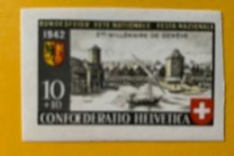 10438 - Pro Patria  Nos 17 & 18 Découpés Du Bloc 1942 *** Neuf MNH - Pro Patria