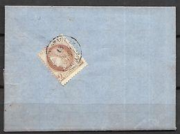 FRANCE    -   1875.   Lettre / Facture De Peaux De Bordeaux Pour Bordeaux. - 1849-1876: Classic Period