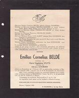 BORGERHOUT EKEREN BELDE Emilius Veuf STUYTS époux GOORDEN 1877-1948 Familles LAUWERS VERBAENEN VAN DORST - Non Classificati