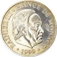 Monnaie, Monaco, Rainier III, 100 Francs, 1999, Paris, FDC, Argent, KM:175 - Monaco
