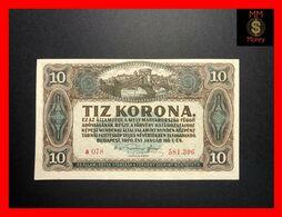 HUNGARY 10 Korona 1.1.1920  P.  60   XF - Hungary