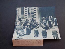 """Origineel Knipsel ( 5393 ) Uit Tijdschrift """" De Stad """"  1937 :   Lokeren - Oude Documenten"""