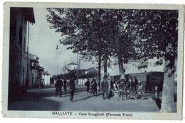 7457 - Galliate ( Piemonte ) Italie - Viale Quagliotti ( Fermata Tram ) - Otras Ciudades