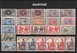 MAURITANIE - SMALL COLLECTION OF STAMPS **/*/O //C1 - Autres
