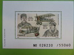 Bloc Feuillet Numéroté Timbre Aéropostal Boyau/Coiffard - Club Phil@poste - N° 026230 Sur 55 060 - NEUF - Mint/Hinged