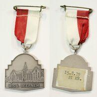 Médaille De Marche_140_Belgique, Beernem, Wandeling, 1979, 21 Km - Bélgica