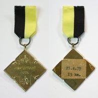 Médaille De Marche_141_Belgique, Hoek, Wandeling, 1979, 15 Km - Bélgica