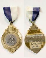 Médaille De Marche_142_Belgique, Kloosterzande, Wandeling, 1979, 20 Km - Bélgica