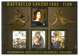 2020 - Foglietto Raffaello Sanzio MNH - Blocchi & Foglietti