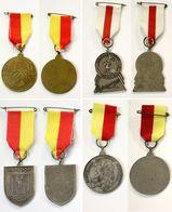 Médaille De Marche_147_Belgique, Mechelen, Wandeling, 4 Medailles Antiloop, Vierdaagse - Bélgica