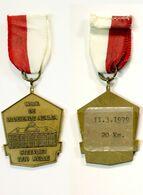 Médaille De Marche_150_Belgique, Melle, Wandeling, 1979, 20 Km, De Bloeiende Azalea, Steevliet - Bélgica