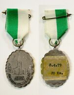 Médaille De Marche_151_Belgique, Nieuwekerken, Wandeling, 1979, 20 Km - Bélgica
