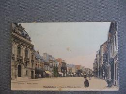 Montdidier  Place De L Hotel De Ville - Montdidier