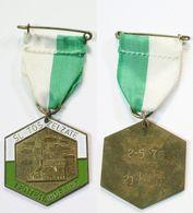 Médaille De Marche_159_Belgique, Zelzate, Wandeling, 1976, 21 Km - Bélgica