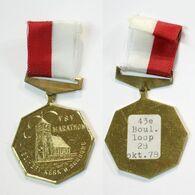 Médaille De Marche_162_Nederlanden, Oost-Souburg, Wandeling, - Netherland