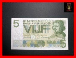 NETHERLANDS 5 Gulden  26.4.1966  P. 90  XF \ AU - 5 Gulden