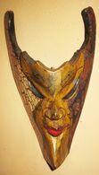 MASCHERA ETNICA LEGNO 15 X 23 CM. MASQUE MASK - African Art