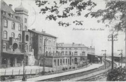 HERBESTHAL  --  Poste Et Gare - ( Club Ferroviaire De L'Est De La Belgique ) - Lontzen