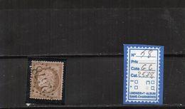 France Cérès - N° 58 (GC2578) - 1849-1876: Période Classique