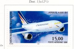 PIA  -  FRANCE  -  1999  : Francobollo Di Posta Aerea - Aereo Airbus A300-B4   -  (Yv  P.A. 63) - Aerei
