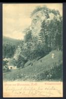 AUSTRIA - Gutenstein N.O. Weissgarberwand / Year 1900 / Long Line Postcard Circulated - Gutenstein