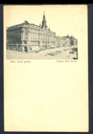 USA - New York Palota Palais New York / Long Line Postcard Not Circulated - Autres Monuments, édifices