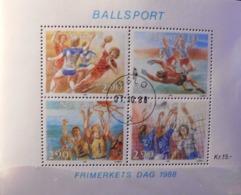 """Norwegen/Norge 1988 """" Ballsport """" - Norwegen"""