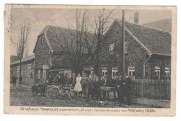 Ansichtskarte , Gruss Aus Meerdorf , Gastwirtschaft Zum Holderstrauch - Peine