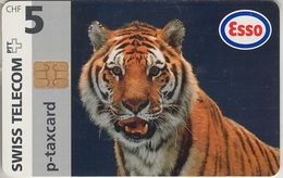 SUISSE - PHONE CARD - TAXCARD-PRIVÉE. CHIP ***  TIGRE ESSO / 2 *** - Switzerland
