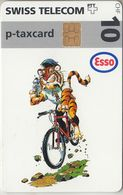 SUISSE - PHONE CARD - TAXCARD-PRIVÉE. CHIP ***  TIGRE ESSO / 4 *** - Switzerland