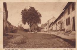 HOMBOURG-HAUT - MOSELLE - (57) - CPA 1936 ANIMÉE. - Altri Comuni
