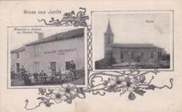 JUVILLE - MOSELLE - (57) - CPA MULTIVUES ANIMÉE DE 1913. - France