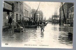 Alfortville, Crue De La Seine - Alfortville