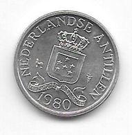 Netherlands Antilles 1 Cent 1980   Km 8a   Unc/ms63 - Antillen (Niederländische)