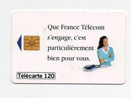 Télécarte France Telecom S'engage - Telecom Operators