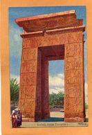 Karnak Egypt 1905 Postcard - Egypte