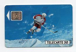 "Télécarte "" JO Hiver 92 Hockey Sur Glace"" - Olympic Games"