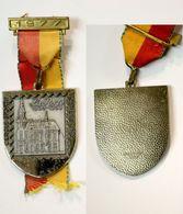 Médaille De Marche_138_Belgique, Spa, 1977, La Poste 1896-1959_cercle Sportif Postiers - Professionnels / De Société