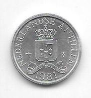 Netherlands Antilles 1 Cent 1981   Km 8a   Bu/ms65 - Antillen (Niederländische)