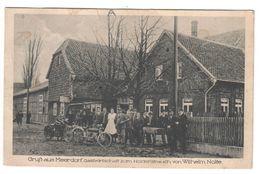 Ansichtskarte , Gruss Aus Meerdorf ( Bei Peine) , Gastwirtschaft Zum Holderstrauch , Zwanziger Jahre - Peine
