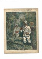 Dans La Forêt Vierge Le Petit Voyageur Illustré Protège-cahier Couverture 220 X 175 Bien Rare - Schutzumschläge