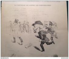 1882 NOUVELLE LOI CONTRE LES PORNOGRAPHES / ÉVÉNEMENTS D´EGYPTE / CHENONCEAUX / KRACH DE GAMBETTA / LE MONDE PARIS - Historical Documents