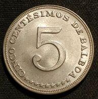 PANAMA - 5 CENTESIMOS 1966 - KM 23 - Panama