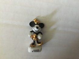 Fève Mâte Filets Or MINNIE Disney / - Disney