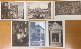 Piacenza, 6 Cartes Postales Circulées. Italie. - Piacenza