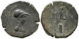 CARTAGONOVA (Cartagena, Murcia). Semis. (Ae. 7,00g/24mm). 50-30 A.C. (FAB-571). - Monnaies Antiques