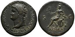 NERON. Sestercio. (Ae. 25,62g/34mm). 66 D.C. Lugdunum. (RIC 517). EBC. Ligerame - 1. The Julio-Claudians (27 BC To 69 AD)