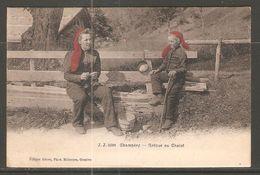 Carte P De 1908 ( Champéry / Retour Au Chalet ) - VS Valais