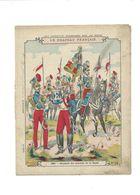 Le DRAPEAU FRANÇAIS Étendard Des Lanciers 1870 Protège-cahier Couverture 220 X 175  Bien Rare - Schutzumschläge