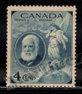 Canada 1947 Yvert 225, Famous People. Inventor, Alexander Graham Bell - MNH - 1937-1952 Règne De George VI
